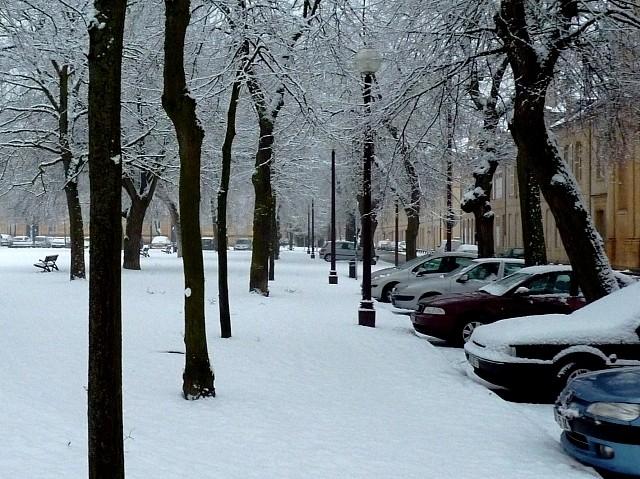 Metz sous la neige 5 Marc de Metz 16 02 2013