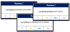 Jeux de français CP et CE1