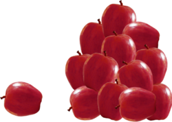 Tubes fruits en png