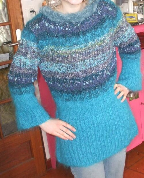 Pull/tunique Phildar