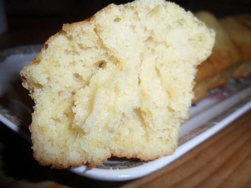*** Petits cakes au lait d'amande ***
