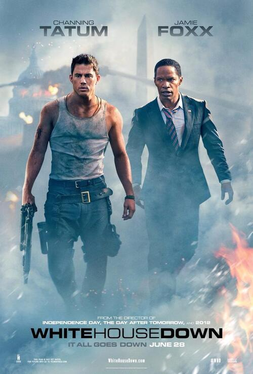 "Bonsoir a l'honneur : "" White house down """