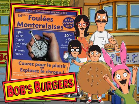 """Bob's Burgers aime les """"Foulées""""."""
