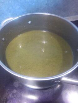 Soupe de blettes