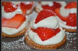 Tartelette fraise citron