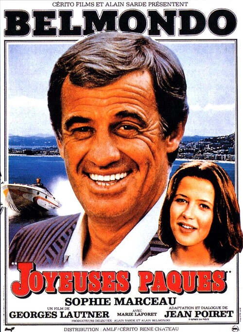 JOYEUSES PAQUES - BOX OFFICE JEAN-PAUL BELMONDO 1984
