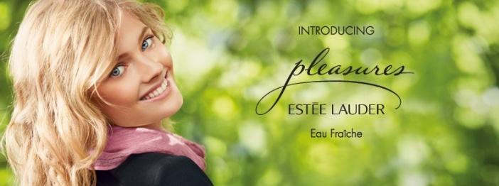 Pleasure d'Estée Lauder, l'eau fraiche