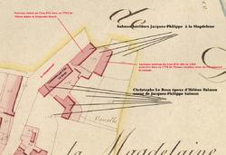1781. Succession immobilière de Guillemette Této