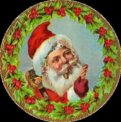 Vintage personnage ( Noël ) 1