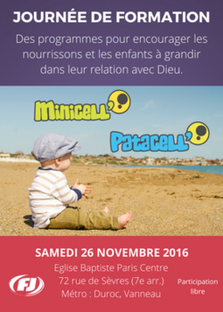 Formation Minicell' et Patacell'
