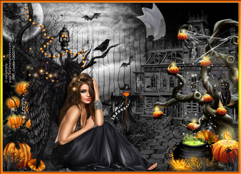 l'ange d'halloween