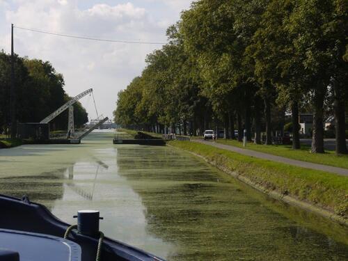 Deuxième pont levis