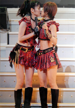 Ai Takahashi 高橋愛 Sayumi Michishige 道重さゆみ Tournée d'automne 2011 Morning Musume concert tour 2011 Aki Ai BELIEVE ~ Takahashi Ai sotsugyo kinen special ~