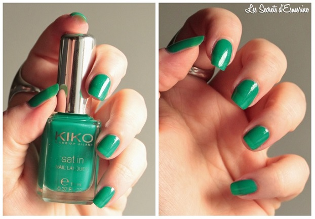 lawn, green, 449, vernis, set, Collection, Satin, Nail, Lacquer, Kiko