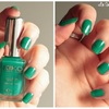 Lawn green - 449 - collection Satin nail lacquer - KIKO