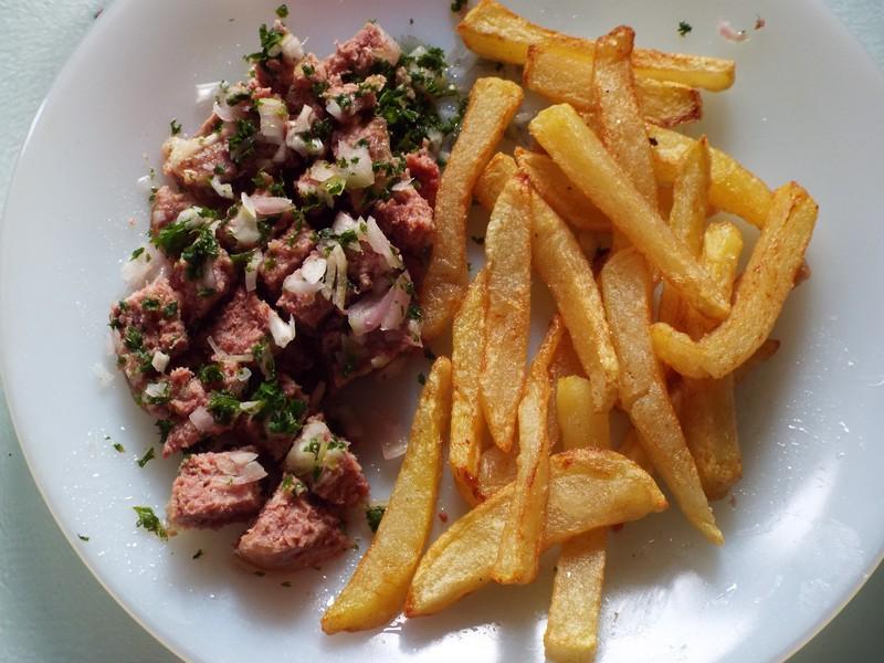 Le corned-beef ....