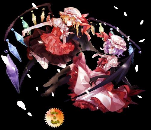 Render - Remilia Scarlet & Flandre Scarlet [3]