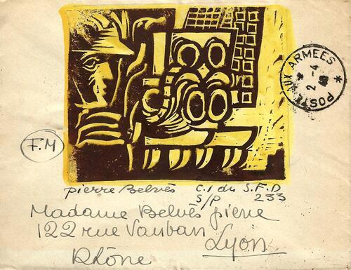 Carte 16/ 02/04/1940