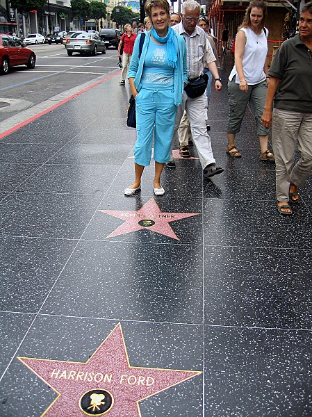 Los Angeles Walk of Fame Môa
