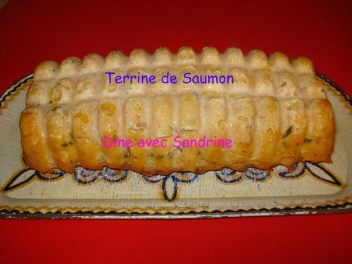 La Terrine de Saumon selon Marie Chioca