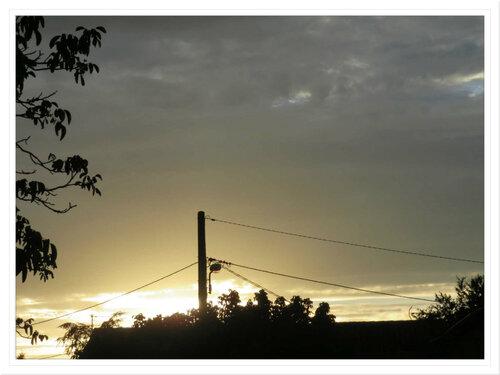 Le ciel le soir !
