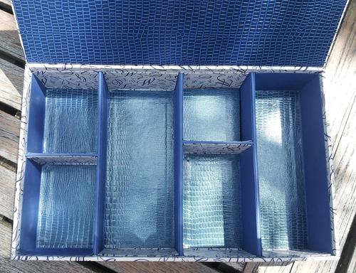Cartonnage - Boîte à casiers