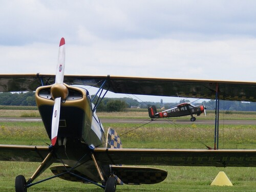 Le meeting aérien de Beaune, vu par Nicole Prévost...