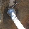 raccordement des évacuations eaux pluies et eaux usées au collecteur du réseau public (5)
