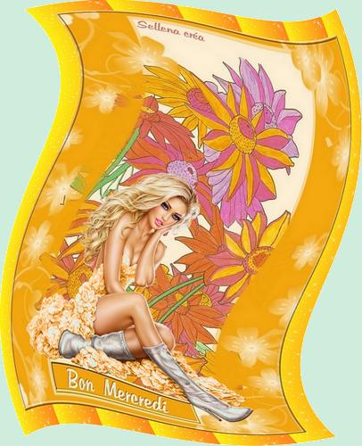 **Cartes fleuries**Coloriages