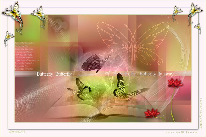 *** Les 156 Butterfly Fly Away***