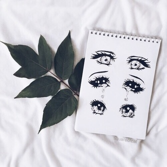 Image de eyes, art, and drawing