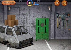 Jouer à Ekey Garage machine room escape