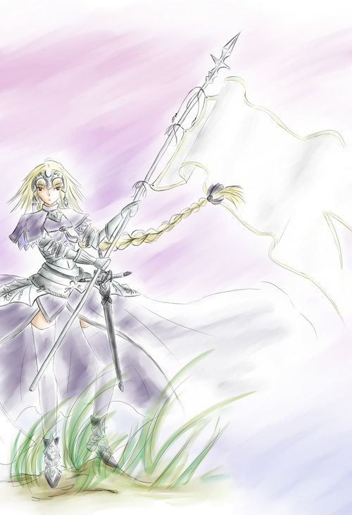 Ruler Jeanne d'Arc (fate apocrypha)