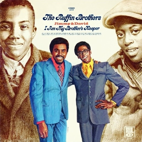 "David & Jimmy Ruffin : Album "" I Am My Brothers Keeper "" Soul Records SS 728 [ US ]"