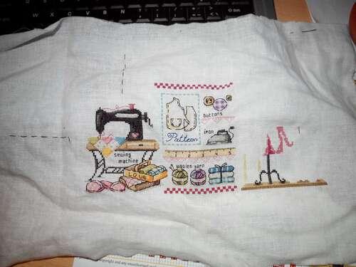 avancée sur sewing room;