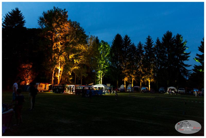 8ème meeting Cox Avenue 2017 - Le site de nuit