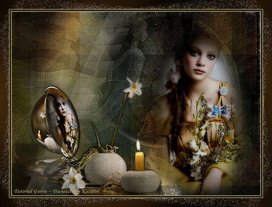 Tutorial PSP Magnifique ~ More than a Woman