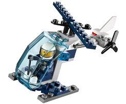 LEGO CITY - Hélicoptère de police (33 pièces)