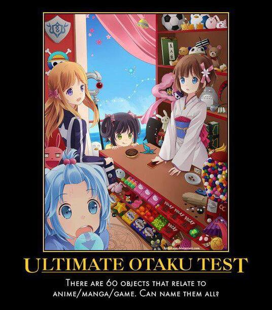 Test Ultime pour Otaku.