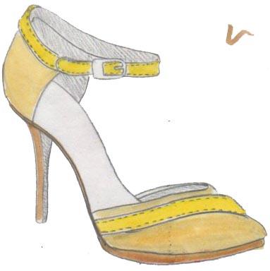 stilettos, talons, heels