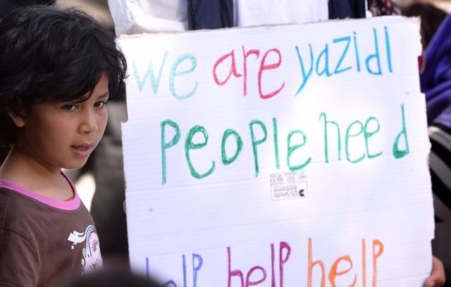 Une motion pour faire accuser l'EI de génocide
