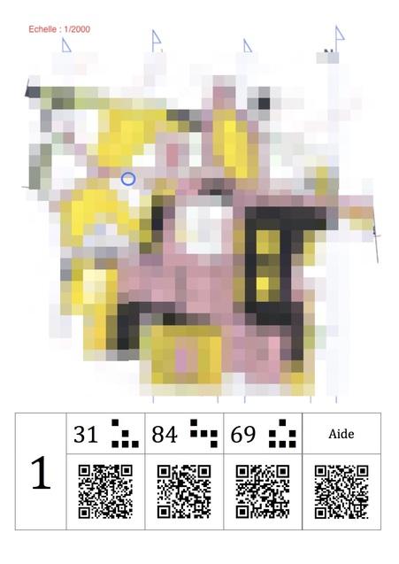 Exemple de carte donnée aux élèves