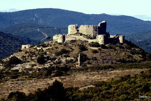 Tuchan: château d'Aguilar