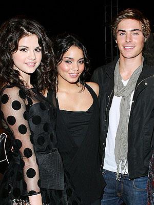 Selena Gomez, Vanessa et Zac