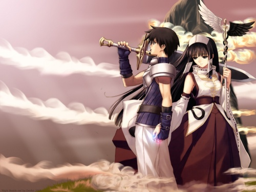 Anime Samurai -girls