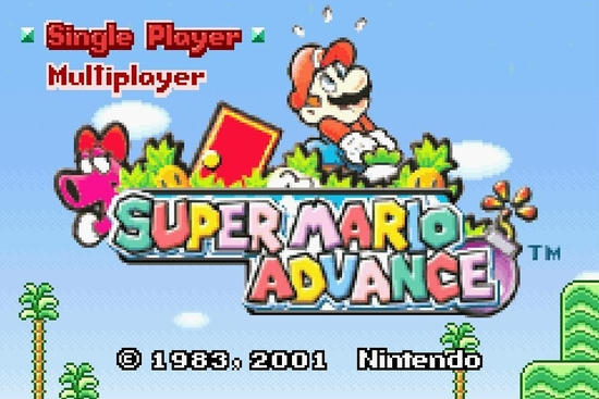 Super Mario Advance s