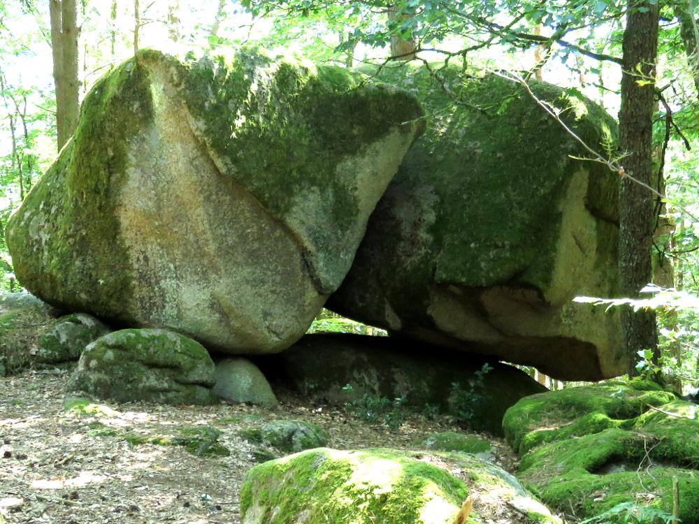 Mégalithe en Morvan