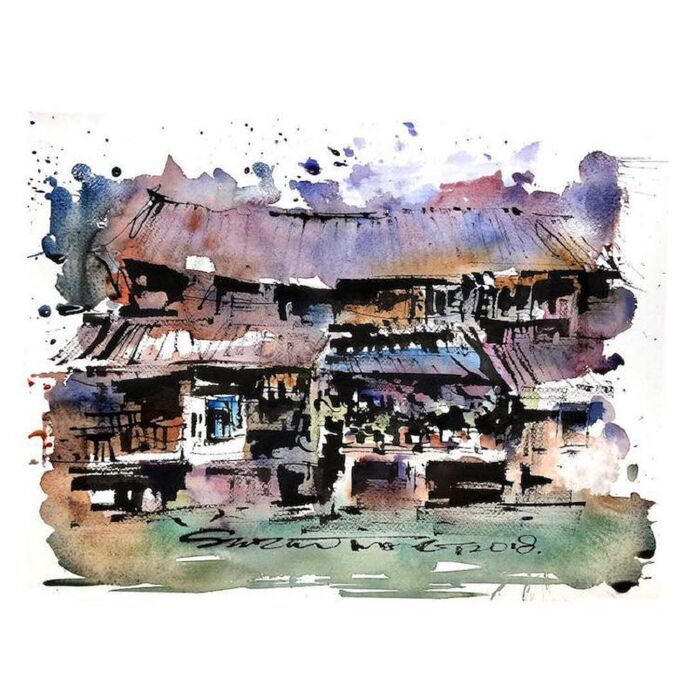 Le Charme des vieilles Villes asiatiques selon  Zhifang Shi (9)