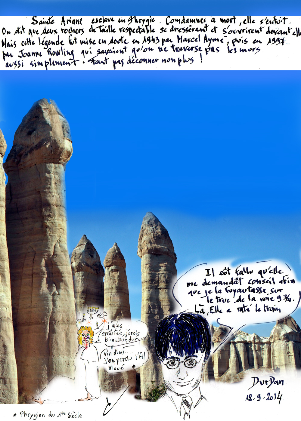 Sainte du jour/Ariane/Cappadoce