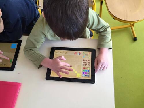 TAPS TICE pour les élèves de maternelle
